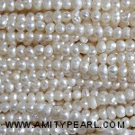 3511 potato pearl 2.5mm white color