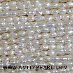 3516 rice pearl 2-2.5mm white color