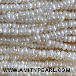 3517 center drilled pearl 1.5-2mm white color