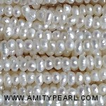 3518 center drilled pearl 1.8mm white color
