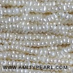 3520 center drilled pearl 2-2.25mm white color