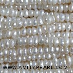 3521 center drilled pearl 2.5mm white color