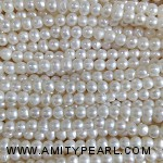 3527 near round pearl 2.5-3mm white color