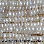 7532 center drilled pearl 3mm white color