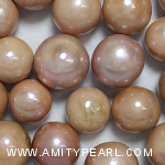 Nucleated Fresh Water Pearls