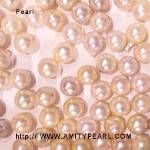 6215 saltwater half-drilled pearl about 6-6.5mm champagne color.jpg